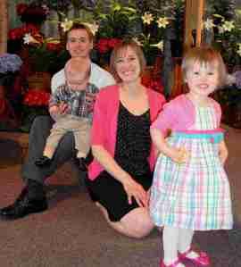 Mama O and family