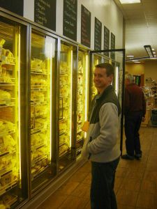 Cheese galore at Cedar Valley Cheese Store