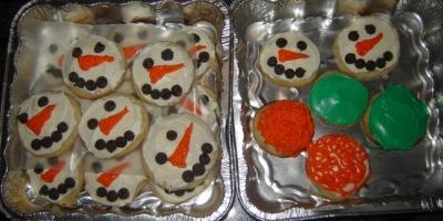 Mama O's Snowman Sugar Cookies