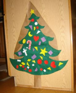 Childproof Felt Christmas Tree
