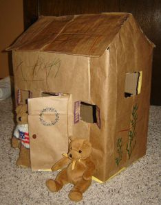 Little bears hideout - side view
