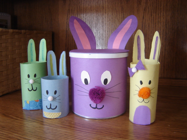 Easter Bunny Crafts For Kids Pinterest