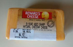 Renard's 5 year cheddar