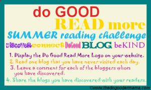 Do Good Read More Summer Reading Challenge