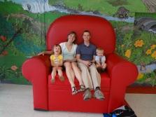 Big sister, Mama O, Daddy O, and Little Brother