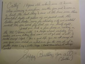 Letter from my Grandpa