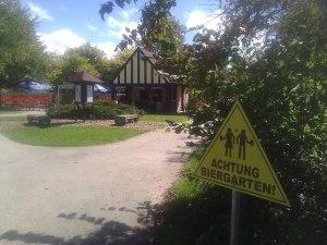 Bier Garten sign
