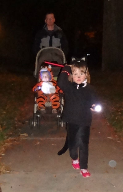2013 trick or treat - the Cat