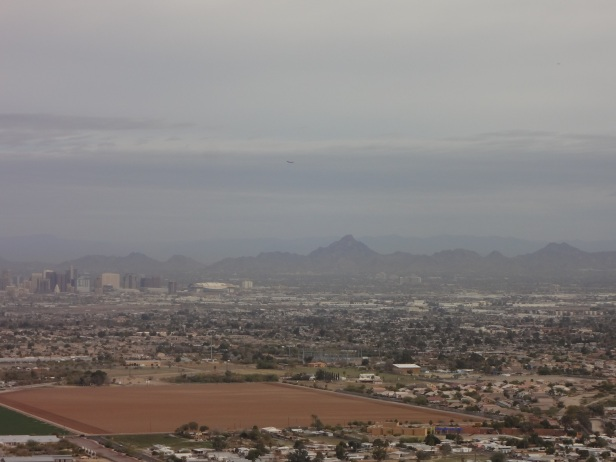 View of Phoenix from Dobbin's Lookout in South Mountain Park