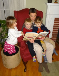 reading to our kids