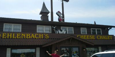 Front of Ehlenbachs Cheese Chalet
