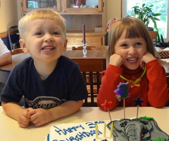 Happy siblings!