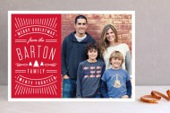 Minted Vintage logo holiday card