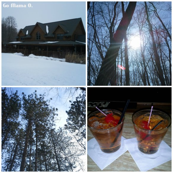 scenes from a winter getaway