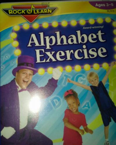 Opening Rockn Learn Alphabet