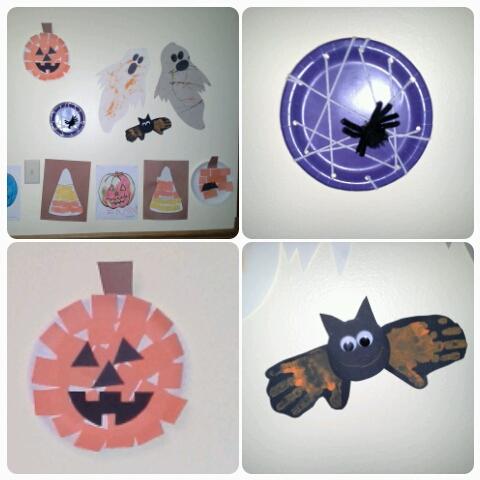 halloween crafts Go Mama O.