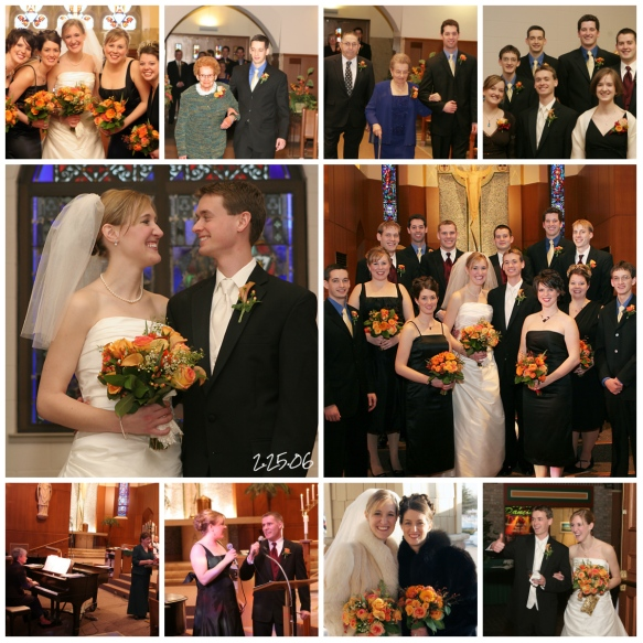 Wedding Collage - Images by Tiffany