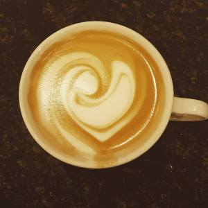 beautiful latte