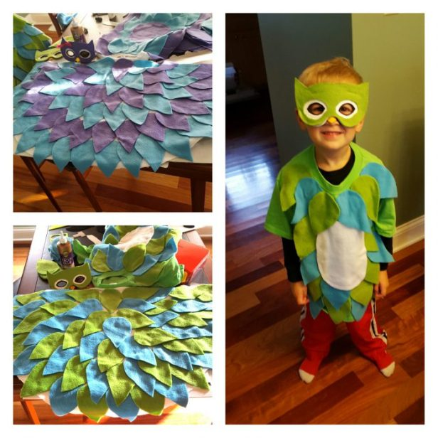 owl costumes by Go Mama O.