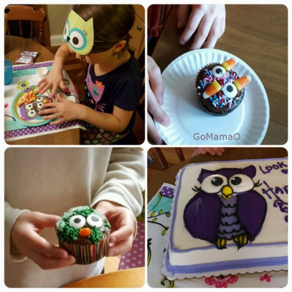 owl-cupcakes-and-store-bought-cake-go-mama-o