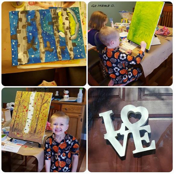 a few paintings - Go Mama O.