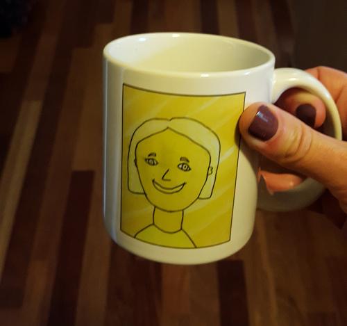 Go Mama O coffee mug 2017