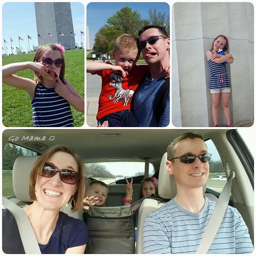 Go Mama O. family vacation silly pics 2017
