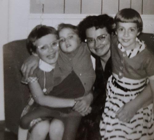 Grandma and her daughters 1960s