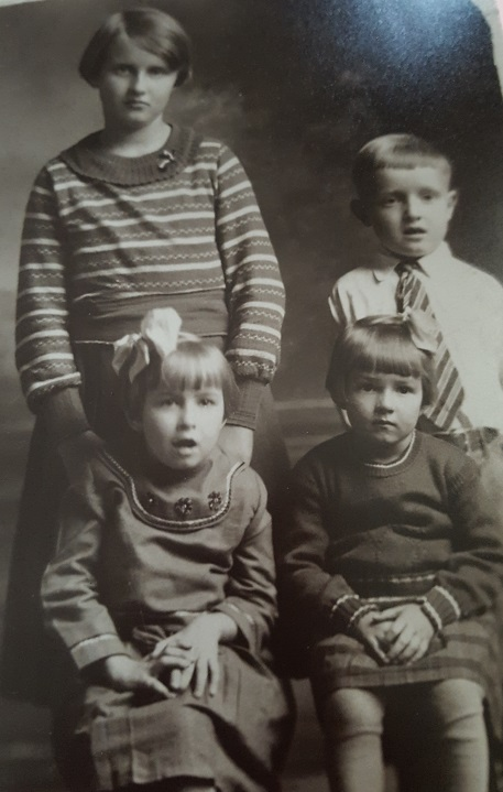 Grandma and her siblings 1930s