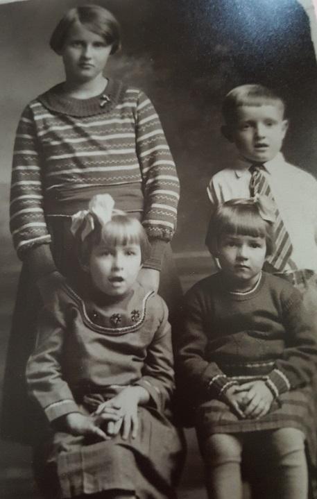 Grandma and her siblings 1930s