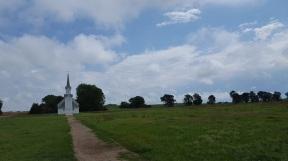 Desmet church on Ingalls homestead