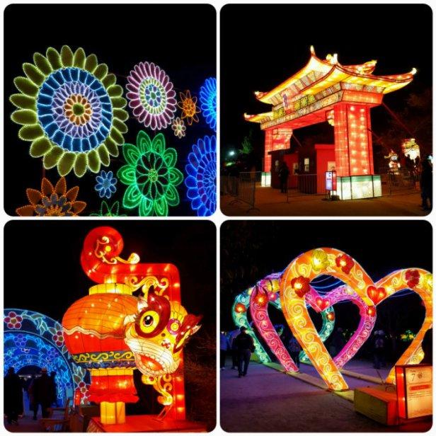 China Lights Gate collage Go Mama O.