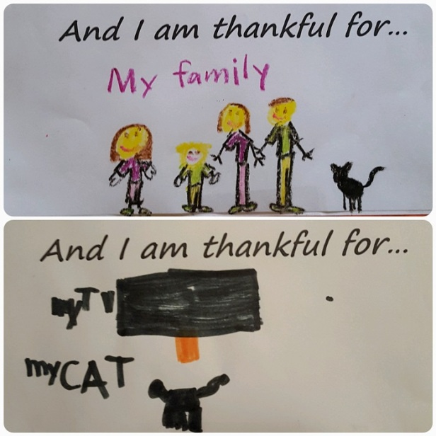 on thankfulness Go Mama O.