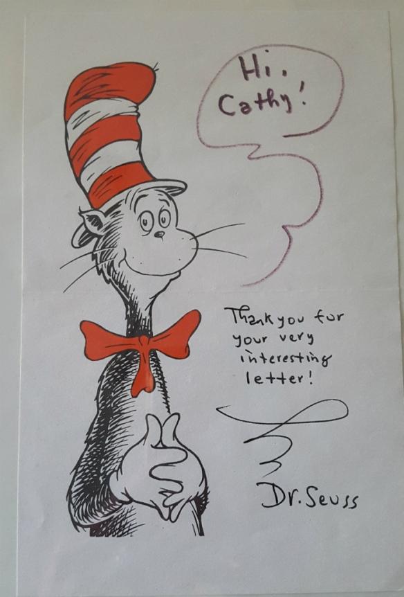 Dr Seuss letter