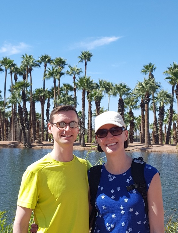 Phoenix Papago Park April 2018 Mama and Daddy O.