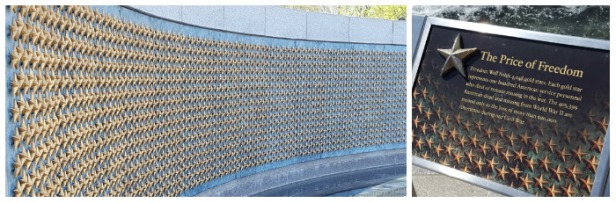 WWII Memorial Stars