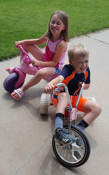 Big kids, big wheels