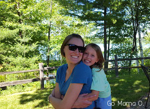 Mama O and Big Sister in the North Woods