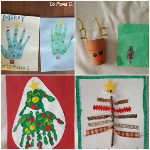 christmas crafts from kids go mama o
