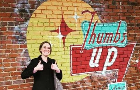 Mama O at Thumbs Up Cafe