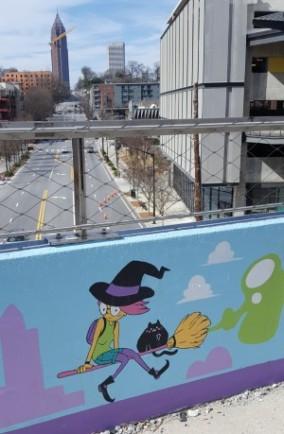 mural along the beltline Atlanta