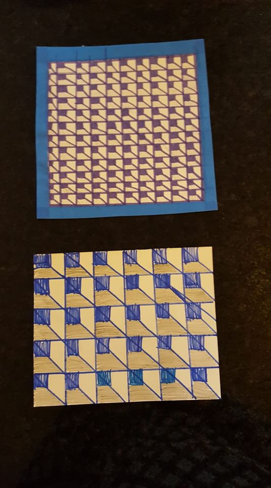 Op art projects Go Mama O.