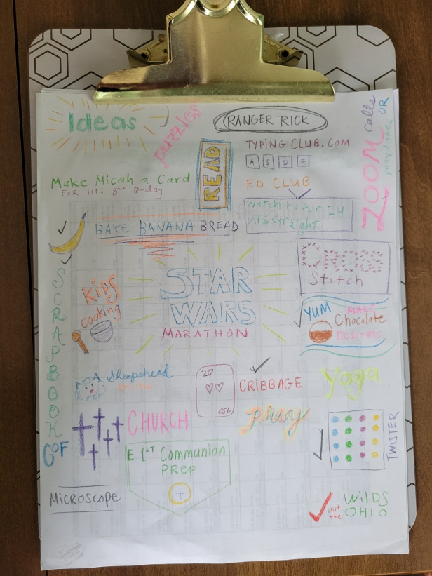 Things we did during COVID-19